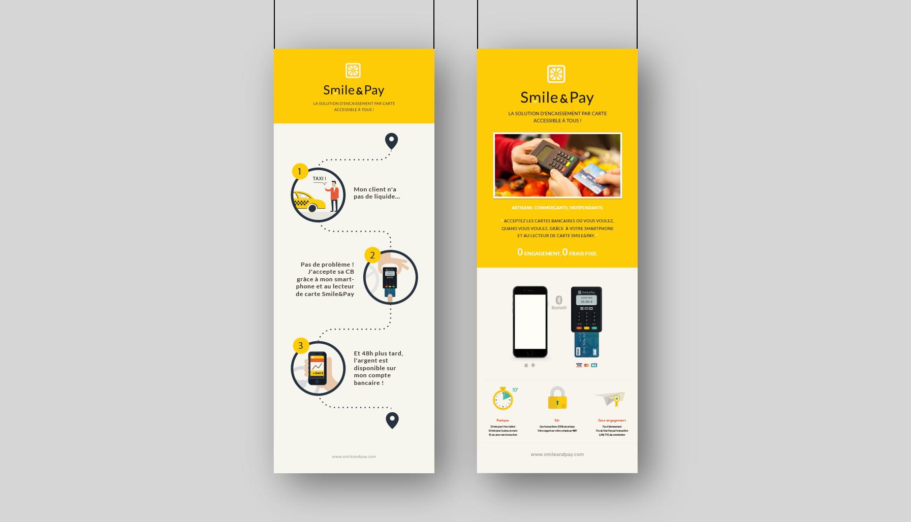 Yellowlab_Smile&Pay_Kakemono